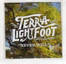 (HS591) Terra Lightfoot, Never Will - DJ CD