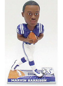 NFL Indianapolis Colts Marvin Harrison On Field Forever Collectibles Bobblehead