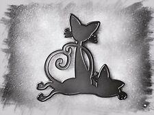 Siamese I gatti/gattini taglio in metallo morire, Stencil, artigianato, card making, scrapbooking