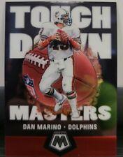 2020 Panini Mosaic Dan Marino Touchdown Masters TM12 - Miami Dolphins