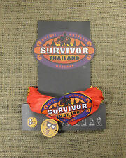 Rare Original 2002 Survivor Thailand Red Buff & Logo Card (Not Reissue!)