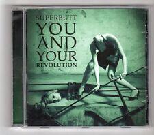 (GZ645) Superbutt, You And Your Revolution - 2009 CD