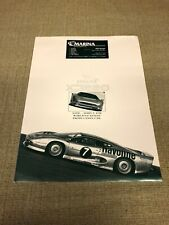 Vintage Jaguar XJ220 Sales Brochure and Packet 1994