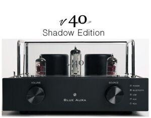 Blue Aura v40 Shadow Edition Bluetooth/Integrated Valve Amplifier - 2021 Model