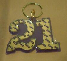 Omega Psi Phi- Line Number Keychain #21