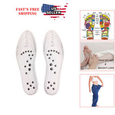 Acupuncture massage shoe insole magnet therapy Health shoe-pad breathable unisex