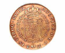 Pièce OR. Espagne, Charles IV. 8 Escudos 1798. Rio Plata, España, Carlos IV. Oro