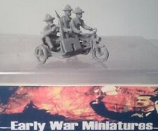 EWM Uscav34mp 1/76 Diecast WWII 3 US cav. on 1916 Harley motorcycle w/machine
