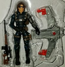 """Marvel Universe WINTER SOLDIER 3.75"""" Figure with Jet Pack Bucky #04 Comic Series"""
