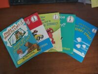Lot of 5 DR  SEUSS Bright & Early, I Can Read It All By Myself HARDBACK Books