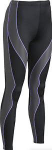 CW-X Black Support Full Length Compression Tight Women's Size XS 17006