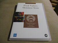 "DVD NEUF ""MONSIEUR TESTE - PAUL VALERY"" Pierre DUX, Jacques TOJA / theatre"