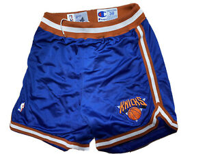 Game Worn Shorts New York Knicks 1991/1992 Champion Size 38 #4 Carlon Mc Kinney