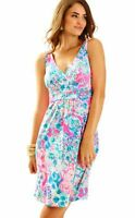Lilly Pulitzer Short Sloane Dress Tiki Pink Gypsea Pink - Size XXS