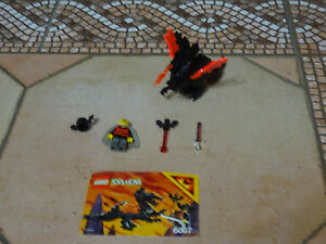 Lego  chevaliers 6007 Bad Lord Obadiah moyen âge  COMPLET +NOTICE