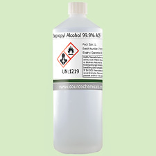 Isopropyl Alcohol (Isopropanol) 99.9% 1 Litre (1L) Including Delivery