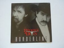 Brooks & Dunn Borderline LP Record Photo Flat 12x12 Poster