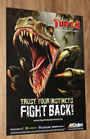 Turok Evolution very rare Promo Poster 59x42cm Playstation 2 Xbox Gamecube