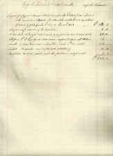 Lucca Spese di Scuderia e Veterinario della Marchesa Virginia Boccella 1835