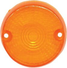 K & S DOT Approved Turn Signal Replacement Lens Amber 25-2230