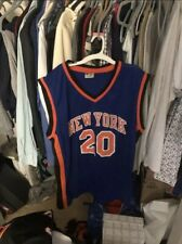 New York Knicks Allan Houston Signed NBA Jersey 20