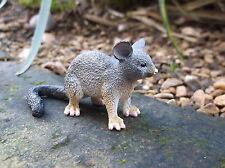 Réplica de la ciencia y la naturaleza Possum Juguete Pequeño Plástico animal australiano