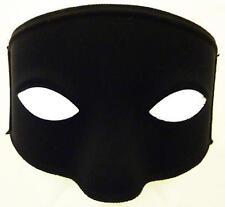 Black Eye Mask With Ties Bandit Zorrow Masquerade Ball Fancy Dress