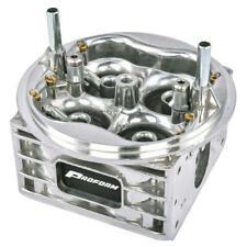Proform Carburetor Main Body 67100C; 750 cfm Down-Leg Boosters Natural Aluminum