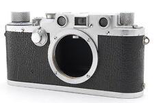 [EXC+++] Leica IIIc 35mm Black Dial Rangefinder Film Camera from JAPAN 0902N