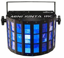 Chauvet DJ Mini Kinta IRC LED RGBW Multi-Color DMX Ambient Derby Light Effect