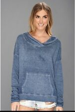 Woman's Medium NWT Free People Blue Teal Echo Park Hoodie SOLD OUT