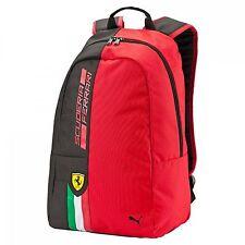 PUMA Backpack Ferrari Fanwear Rosso Corsa-Puma Black