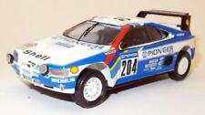 Coches de rally de automodelismo y aeromodelismo resina Peugeot escala 1:43