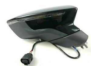 Seat Leon 5F FR Exterior Front Right Side Wing Mirror LED RHD 21996710D