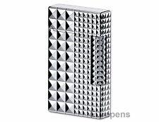 S.T. Dupont Lighter Ligne 2 Iconic Design Palladium Finish (016066) Gift Boxed