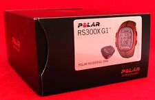 POLAR RS300X G1 ORANGE HEART RATE MONITOR RUNNING BIKE EXERCISE FITNESS 90036634