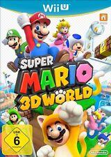 Nintendo wii u jeu-super Mario 3d world (avec emballage d'origine)