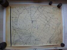 Montbard. Bois Thoureau, Bois Roux. Plans 1956 – env. 1965