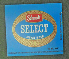 SCHMIDT SELECT NEAR BEER  WISCONSIN