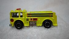 1996 Hot Wheels Fire Fighter Yellow Fire Eater Truck Custom Real Riders