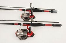 2 Quantum Valiant 40 Spin Fishing Reels, 7ft. Rods New
