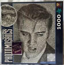 Elvis 1026 Piece Photomosaiacs Jigsaw Puzzle With Poster Robert Silver BGI NIB