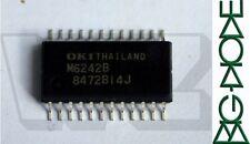1 x M6242B OKI CMOS Real Time Orologio/Calendario per l'uso in diretta connessione BUS -