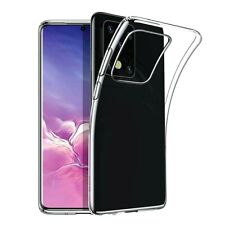 More details for clear case for samsung galaxy a21s a51s a71 a41 a31 a11 silicone gel phone cover