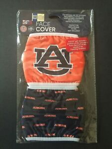 Auburn Tigers Officially Licensed 2 Pack Adult Face Mask - Qty Discounts!