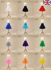 Women Retro Underskirt Petticoat Party Crinoline Slips Tutu Dress Net Skirt UK