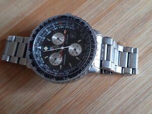 montre ancienne tag heuer pilot chronographe 200 metres