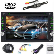 "Sony Lens Double 2Din 6.2"" Touchscreen Car Dvd Player Bluetooth  Stereo GPS Navi"