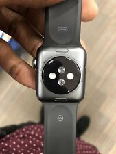 Apple Watch Series 3 38mm Space Gray Aluminium Case with Gray Sport Band (GPS) -