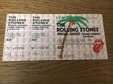 ticket concert Collector Rolling Stones Juin 1976